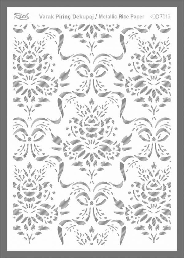 Ριζόχαρτο Rich Silver 29x41 cm 7016