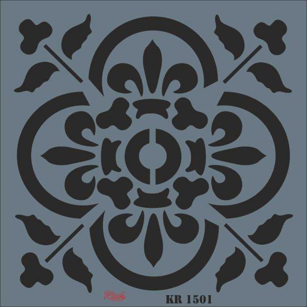 Stencil Rich Tile Serie 30x30 cm KR1501