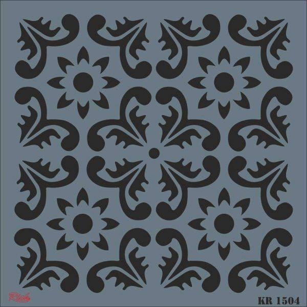 Stencil Rich Tile Serie 30x30 cm KR1504