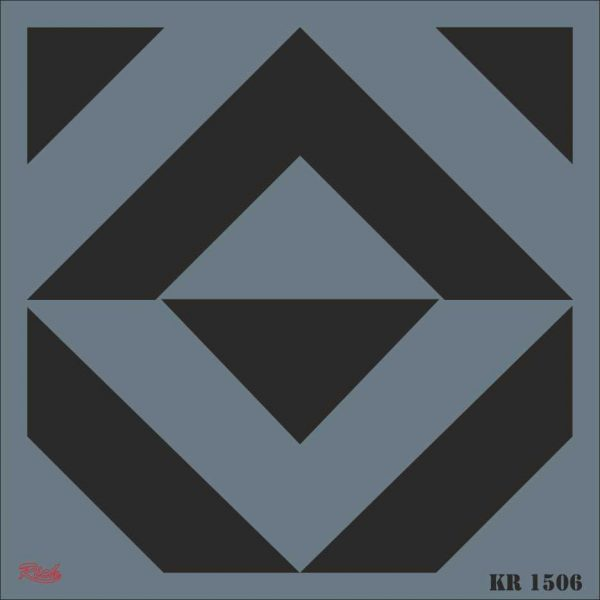 Stencil Rich Tile Serie 30x30 cm KR1506