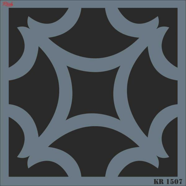 Stencil Rich Tile Serie 30x30 cm KR1507