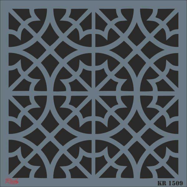 Stencil Rich Tile Serie 30x30 cm KR1509