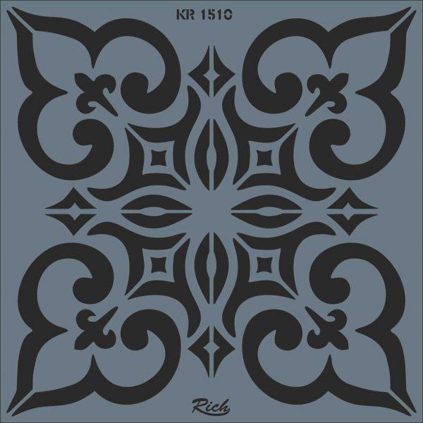 Stencil Rich Tile Serie 30x30 cm KR1510